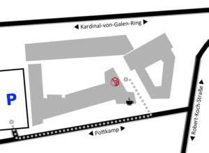 Skizze-Parkplatz