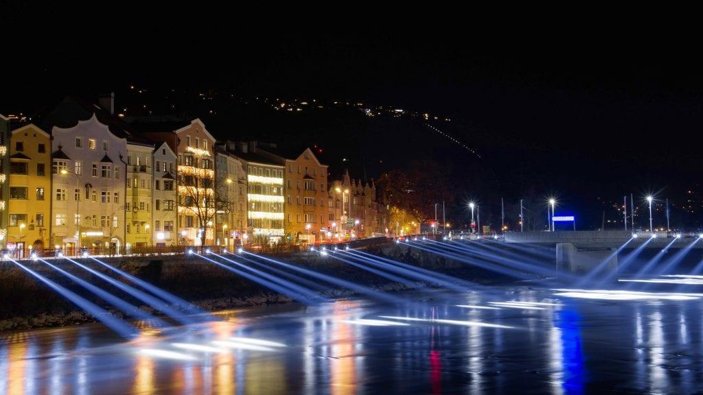 Silvester Innsbruck Beleuchtungsdesign