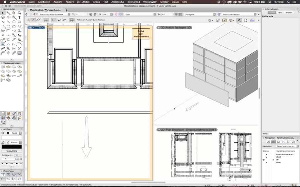 Vectorworks-interiorcad-2D-3D-Aendern